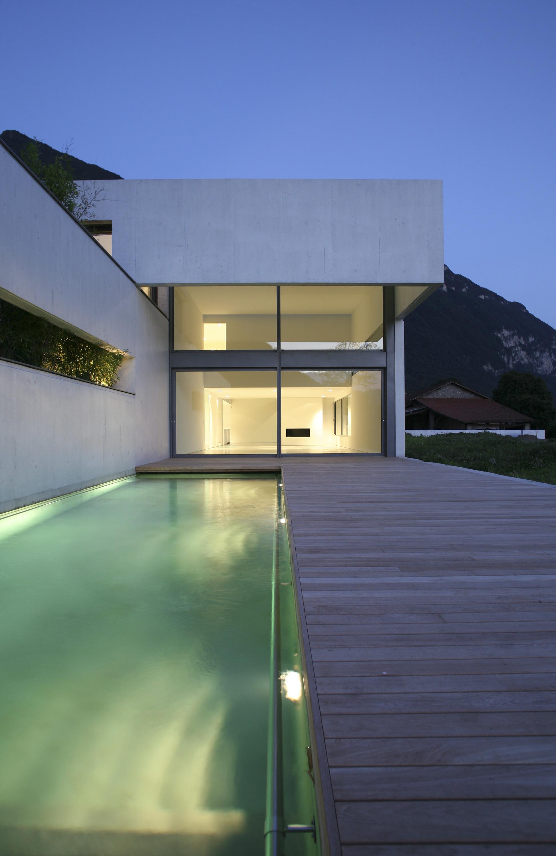 Beleuchtung einer Terrasse