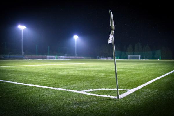 LED Flutlicht Sportplatz